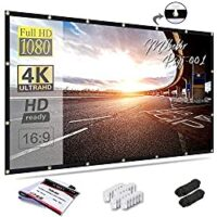 Mdbebbron 120 inch Projection Screen