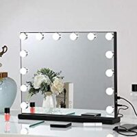 FENCHILIN Large Vanity Mirror with Lights